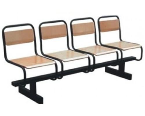 Секции стульев «Диалог» фанера