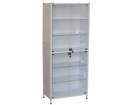 Шкаф металлический медицинский двустворчатый